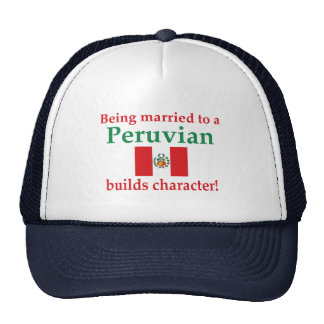 Peruvian Builds Character Trucker Hat