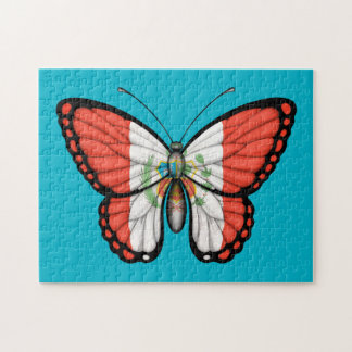 Peruvian Butterfly Flag Jigsaw Puzzle