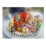 Peruvian Ceviche! Post Cards
