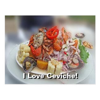 Peruvian Ceviche Post Cards