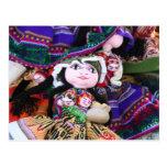 Peruvian Doll - Post card