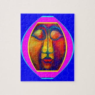 Peruvian Face Study puzzel by Sharles Jigsaw Puzzle