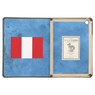 Peruvian flag cover for iPad air