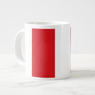 Peruvian Flag Giant Coffee Mug