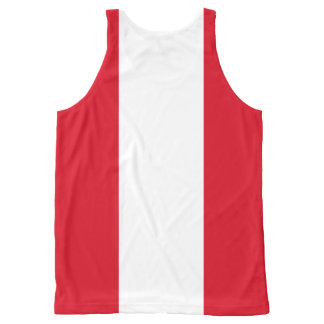 Peruvian flag All-Over print tank top