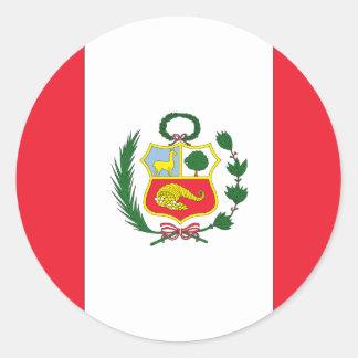 Peruvian Flag Stickers