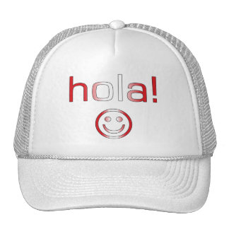 Peruvian Gifts : Hello / Hola + Smiley Face Hat
