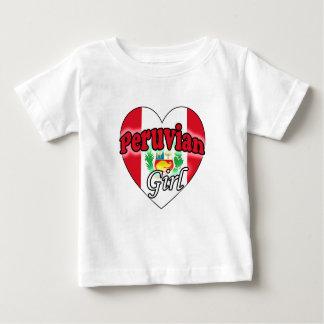 Peruvian Girl Baby T-Shirt