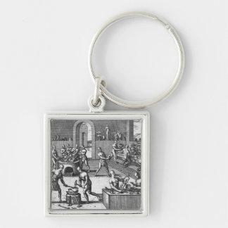 Peruvian goldsmiths key chain