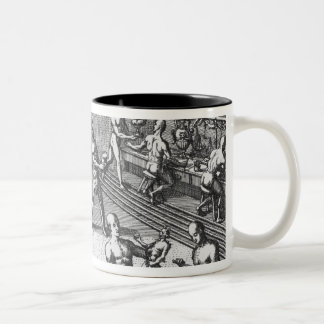 Peruvian goldsmiths Two-Tone coffee mug