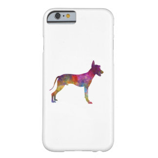 Peruvian Hairless Dog in watercolor Barely There iPhone 6 Case