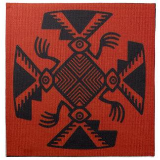 Peruvian Inca Bird Napkin
