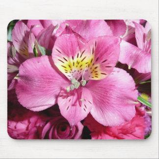 Peruvian lily mouse pad