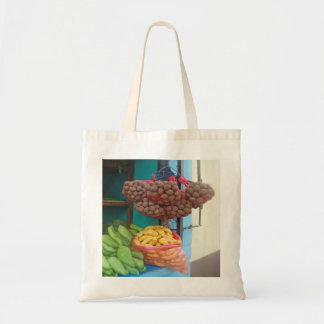 Peruvian Market on the Corner-Favorite Mercado Tote Bag