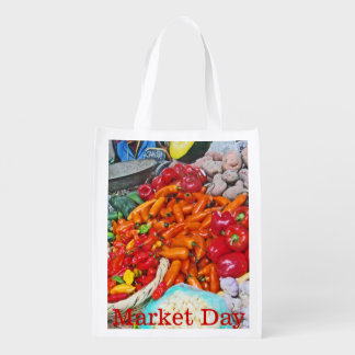 Peruvian Market Potatoes and Peppers Market Totes