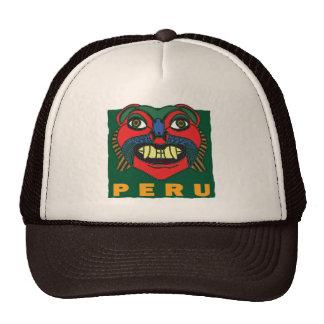 PERUVIAN  MASK TRUCKER HAT