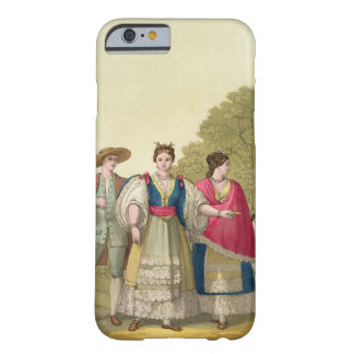 Peruvian Men and Women in Traditional Costume col iPhone 6 Case