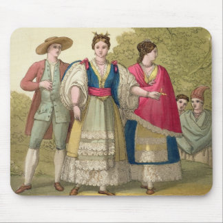 Peruvian Men and Women in Traditional Costume (col Mouse Pad