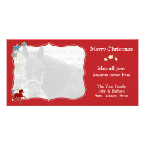 Peruvian Paso Festive Christmas Holiday Card