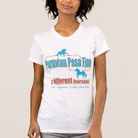 Peruvian Paso Fino (Paso Fino version) Tshirt