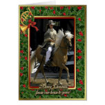 Peruvian Paso Horse Blank Christmas Card