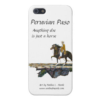 Peruvian Paso Horse Rider on Mountain trail Cover For iPhone SE/5/5s