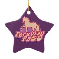 Peruvian Paso Ornaments