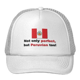 Peruvian perfectos gorras
