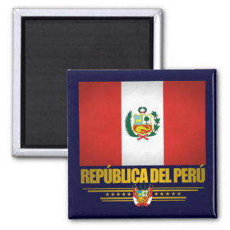 """Peruvian Pride"" Refrigerator Magnet"