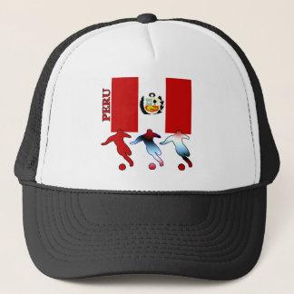 Peruvian Soccer Players Trucker Hat