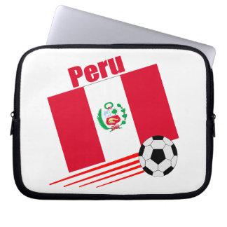 Peruvian Soccer Team Laptop Computer Sleeves