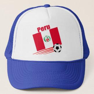 Peruvian Soccer Team Trucker Hat
