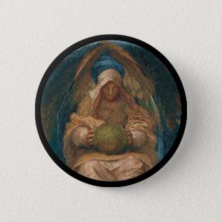 Pervading Spirit Angel Pinback Button