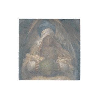 Pervading Spirit Angel Stone Magnet