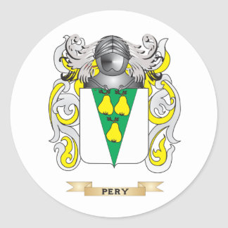 Pery Coat of Arms (Family Crest) Sticker