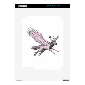 Peryton Flying Side Tattoo Skins For The iPad 2