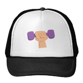 Pesa de gimnasia del ejercicio gorras
