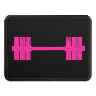 Pesa de gimnasia rosada/Barbell Tapa De Tráiler