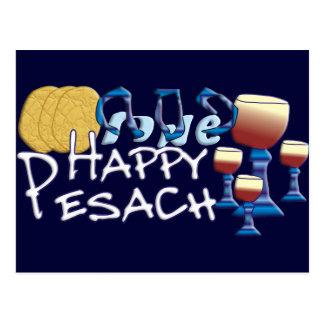 Pesach feliz tarjetas postales