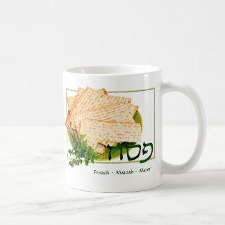 Pesach Matzah Maror Passover Mug