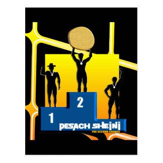 Pesach Sheni Postcard