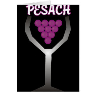 Pesach Whine Card