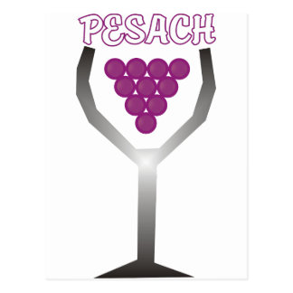 Pesach Whine Postcard