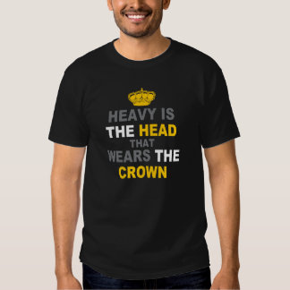 Pesada es la corona remera