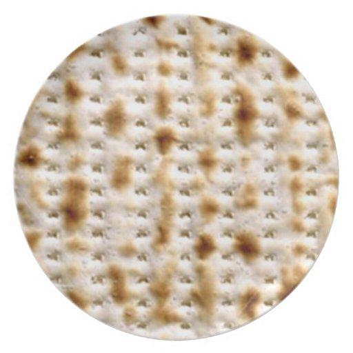 ¡~ Pesadich de la placa del Matzoh y ácimo! Platos De Comidas