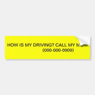 Pesadilla adolescente pegatina para auto