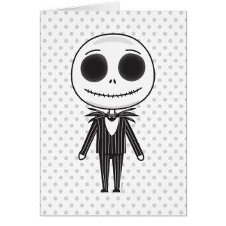 Pesadilla antes del navidad el   Jack Emoji Tarjeta De Felicitación
