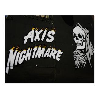 Pesadilla de AXIS Tarjetas Postales