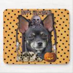 Pesadilla de Halloween - chihuahua - Isabel Tapetes De Raton