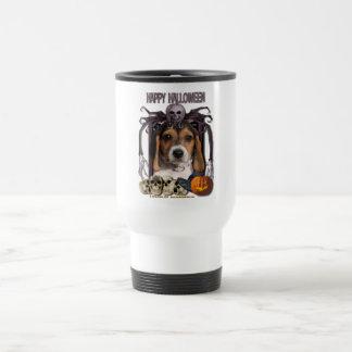 Pesadilla de Halloween - perrito del beagle Tazas De Café